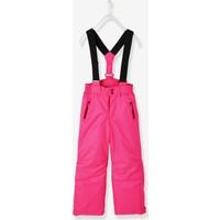 Vertbaudet Kız Çocuk Neon Pembe Kayak Pantolonu