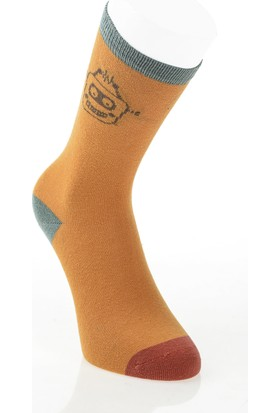 Pixter&Bro Trend Happy Pixterboy Çocuk Üçlü Soket Çorap Set