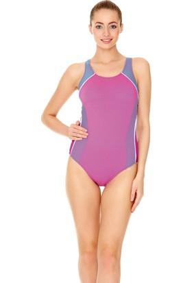 Dagi Kadın Yüzücü Mayo Pembe
