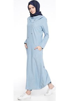 Kot Elbise - Açık Mavi - Neways
