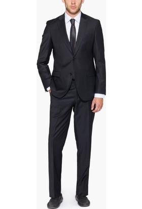 Hateko Altınyıldız Slım Fıt Siyah Takım Elbise
