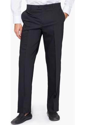 Hateko Klasik Kesim Altınyıldız Siyah Yün Kumaş Pantolon