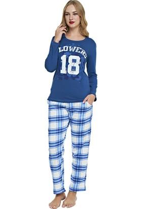 Pijama Takımı - Mavi - Dünya Yıldızı