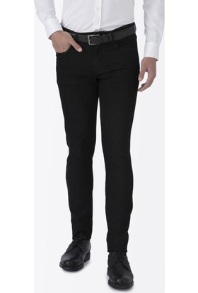 Hemington Siyah Slim Fit Denim Pantolon