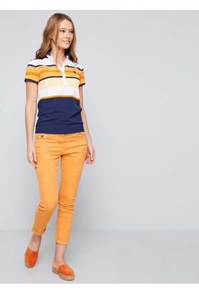 U.S. Polo Assn. Kadın Gavin T-Shirt Lacivert