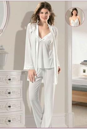 X-Ses Bayan 3'Lü Pijama Takım 2030
