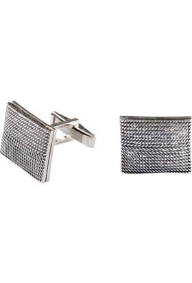 Akyüz Gümüş Telkari Gümüş Kol Düğmesi Kdm020