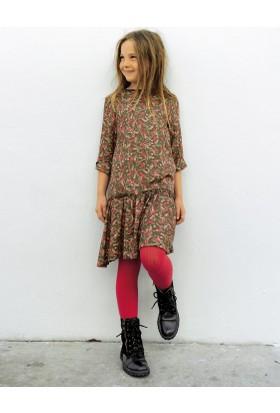 Vertbaudet Kız Çocuk Desenli Elbise