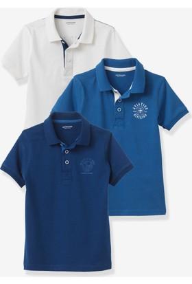 Vertbaudet Erkek Çocuk 3'lü Polo Tshirt