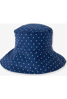 Vertbaudet Kız Çocuk Çift Taraflı Şapka 53 - 54 cm