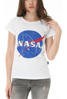 Köstebek Nasa Kadın T-Shirt