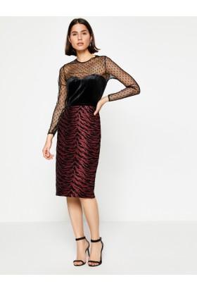 Koton Kadın Elbise Pembe (Dilek Hanif for Koton)