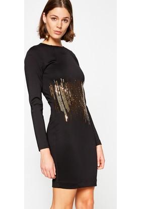 Koton Kadın Elbise Siyah (Arzu Sabancı for Koton)