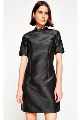 Koton Kadın Mini Elbise Siyah