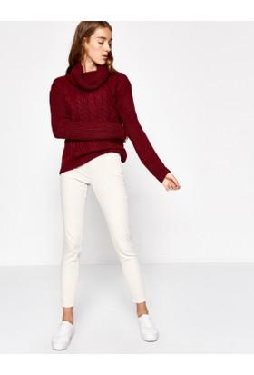 Koton Kadın Skinny Pantolon Gri
