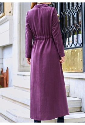 Femme Siyah Kemerli Elbise