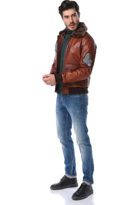 Dericlub Pilot Model Erkek Deri Kaban