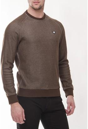 Armani Jeans Ajm10 Erkek Kahverengı Sweatshirt