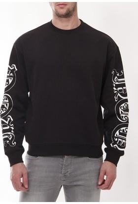 Alexander Mcqueen Amm09 Erkek Siyah Sweatshirt