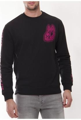 Alexander Mcqueen Amm11 Erkek Siyah Sweatshirt
