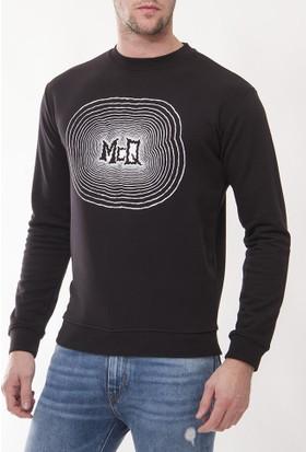 Alexander Mcqueen Amm35 Erkek Siyah Sweatshirt