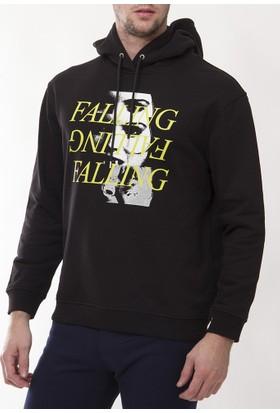 Alexander Mcqueen Amm40 Erkek Siyah Sweatshirt