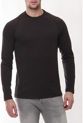 Denham Dm103 Erkek Siyah Sweatshirt