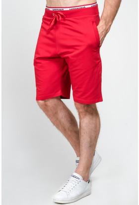 Moschino Lmm-26 Erkek Kırmızı Şort
