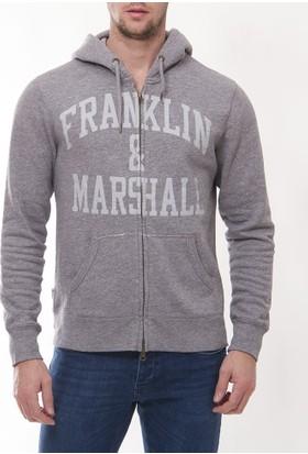 Franklin Marshall Frm01 Erkek Gri Hırka
