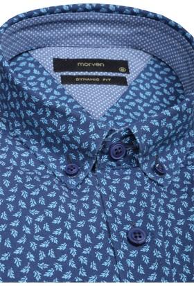 Morven Oxford Baskılı Gömlek