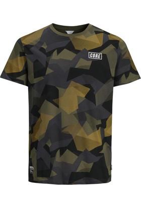Jack & Jones T-Shirt Jcodian Ss Crew Neck 12129673-GRP