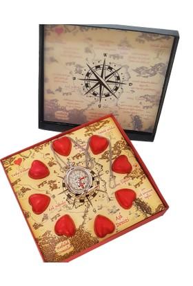 Chavin Çikolatalı Sürpriz Haritalı Aşk Pusulası Pusula Yap38 102450024602