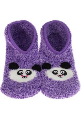 Twigy L0729 Tw Karenza Kadın Mor Ev Çorabı