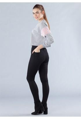 Femme Yüksek Bel Pantolon Siyah