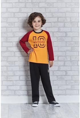 Galatasaray Lisanslı Erkek Çocuk Pijama Takımı