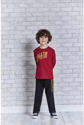 Galatasaray Lisanslı Genç Erkek Pijama Takımı