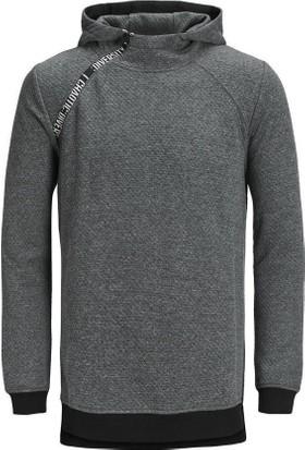 Jack & Jones Sweatshirt Jcokari Hood 12128572-DGM
