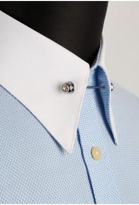 La Pescara Taşlı Gömlek Yaka İğnesi Gı060