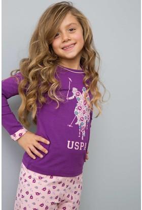 U.S. Polo Assn. US150-1 Pijama Mor