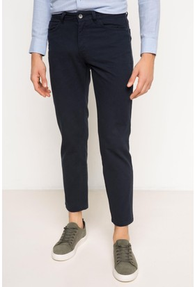 DeFacto Erkek Leo Regular Fit Pantolon Lacivert