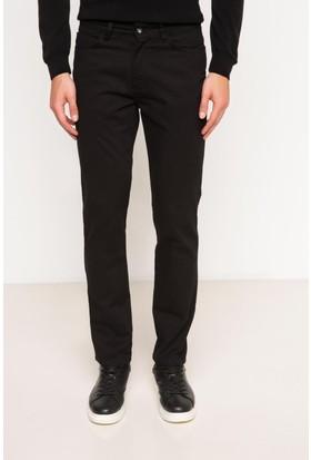 DeFacto Erkek Leo Regular Fit Pantolon Siyah