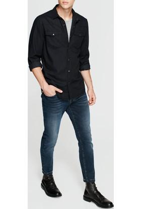 Mavi Erkek Rio Siyah Jean Gömlek