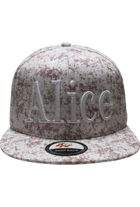 Laslusa Alıce Hip Hop Snapback Şapka