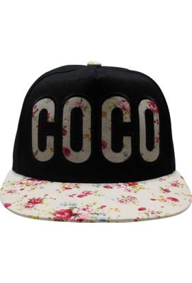 Laslusa Coco Hip Hop Snapback Şapka