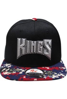 Laslusa Kings Hip Hop Snapback Şapka
