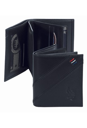 U.S. Polo Assn. Siyah Cüzdan Plcuz7627