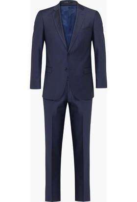Hateko Altınyıldız Slim Fit Lacivert Takım Elbise