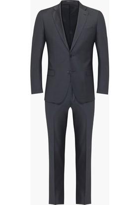 Hateko Altınyıldız Slim Fit Antrasit Takım Elbise