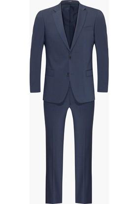 Hateko Altınyıldız Kırışmayan Yıkanabilen Slim Fit Bazalt Gri Takım Elbise