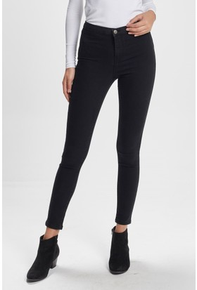 Vena Merry Jegging Black Denim Pantolon Siyah